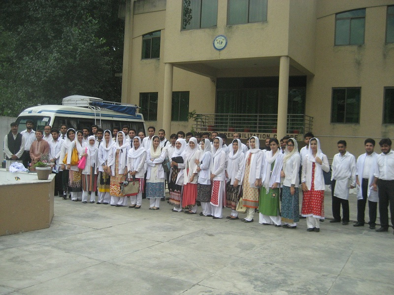 Students from Abbottabad International Medical College 01