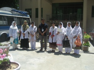 Students from Women Medical College